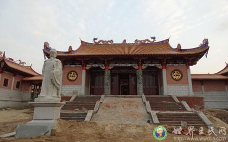 王铭仪先生捐资6000万元兴建王审知纪念馆